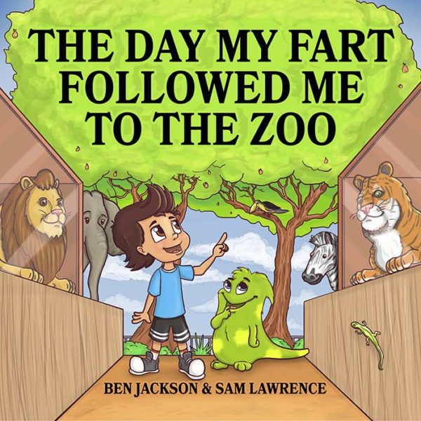 The Day My Fart Followed Me To The Zoo Cover